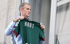 Joe Hart completed his season long loan from Manchester City to Torino on Tuesday