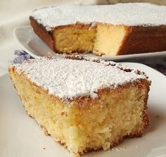 Greek Sweets, Greek Desserts, Greek Recipes, Desert Recipes, Vegan Desserts, Delicious Desserts, Vasilopita Cake, Greek Cake, Homemade Sweets