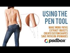 Make selections with the Pen Tool - Photoshop Tutorial - PSD Box