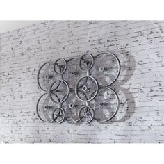 Bike Wheel Wall Art