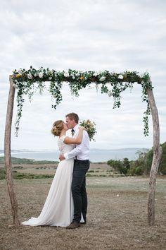 Romantic DIY Beach Wedding | With Love & Lace