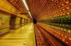 Did the designer of Malostranska station in Prague take inspiration from Dr Who's Tardis? ...