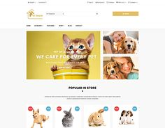 """Check out new work on my @Behance portfolio: """"Ap Pet House Prestshop Theme"""" http://be.net/gallery/42857393/Ap-Pet-House-Prestshop-Theme"""