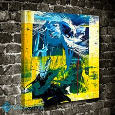 Abstract Oil Painting Tablo #soyut_kanvas_tablo
