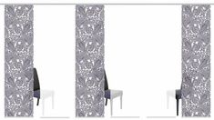 Sliding curtain »Sarnia«, HOME LIVING IDEAS, Velcro (1 piece), without mounting accessories  #curtain #ideas #living #piece #sarnia #sliding #velcro Sliding Curtains, Diy Room Divider, Home And Living, 1 Piece, Curtain Ideas, Home Decor, Accessories, Decoration Home, Room Decor