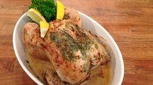 Helstekt vår-kylling