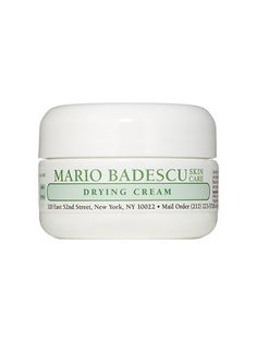 """Mario Badescu Drying Cream """"I use this to zap those pimples right when they start. When you're traveling, crazy things can happen to your skin!"""""""