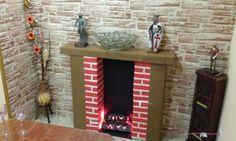 Risultati immagini per como hacer chimeneas en carton Outdoor Decor, Christmas, Diy, Furniture, Home Decor, Google, Cardboard Fireplace, Fake Fireplace, Decorative Fireplace