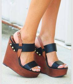cb0e8d6c60b Need these wedges😍 Cute Shoes