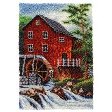 Old Mill Stream Latch Hook Kit