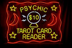 Signs to Look for When Choosing a Tarot Reader Black Magic Love Spells, Tarot Cards For Beginners, Light Words, Neon Words, Candle Companies, Psychic Readings, Card Reading, Reading Room, Oracle Cards