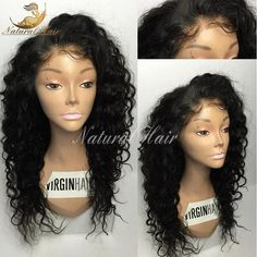 8a Lace Front Human Hair Wigs Wet And Wavy Glueless Full Lace Human Hair Wigs For Black Women 130% Curly Front Lace Wigs