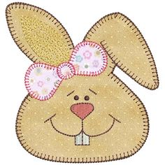 You are being redirected. Quilt Baby, Baby Quilt Patterns, Applique Patterns, Applique Designs, Rabbit Crafts, Bunny Crafts, Felt Crafts, Easter Crafts, Easter Decor