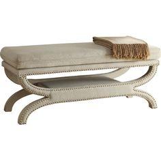 Kiara Upholstered Storage Bench & Reviews | Joss & Main