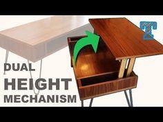 Lift Top Coffee Table Mechanism - YouTube