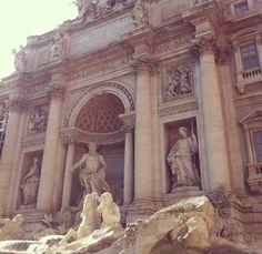 Trevi Fountain, Rome - so beautiful