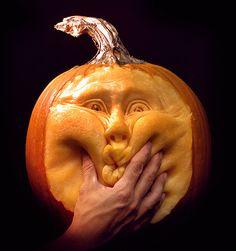 Pumpkins: A pumpkin created by Villafane Studios