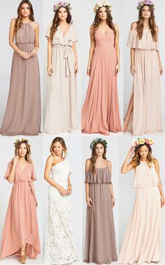 Searching for where to shop for mix and match bridesmaids dresses online? I've listed out my top five shops for gorgeous mix and match bridesmaids dresses for any time of year. Black mix and match bridesmaids dresses. Nude mix and match bridesmaids dresses. Blush mix and match bridesmaids dresses. Blue mix and match bridesmaids dresses. Gray mix and match bridesmaids dresses. How to pull off mix and match bridesmaids dresses. Mismatched bridal party. Stunning mismatched bridal party. How to…