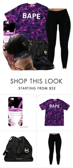 """""""untitled #94"""" by yani122 ❤ liked on Polyvore featuring A BATHING APE, MICHAEL Michael Kors and Puma"""