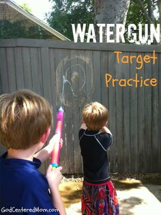 Fun afternoon Summer activity