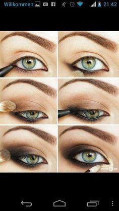 #Make up #katzenaugen #glamour rock