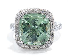 Green Amethyst- WHAT?!?! green is my favorite color and amethyst is my birthstone