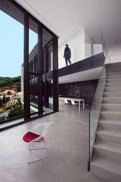 Casa x, Microcemento, Barcelona, Topcret