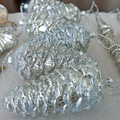 Mercury Glass Ornaments