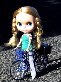 Ellis and her new bicycle | Flickr - Photo Sharing!