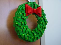 Lego Wreath..cool!