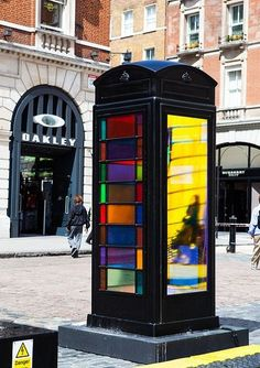UK telephone booth