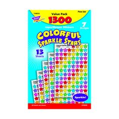 SUPERSHAPES VARIETY 1300PK COLORFUL