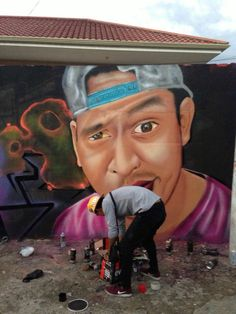 #CoskWan21 #StreetArt #Graffiti #Rostro #Amistad #Cuenca #ECUADOR