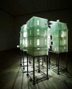 do ho suh  home within home , 2008-2011  photo sensitive resin  86.14 x 95.69 x 101.12 inches / 218.8 x 243.04 x 256.84 cm  courtesy the artist and lehmann maupin gallery, new york