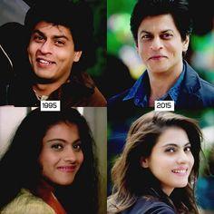 Aww...they're still adorable together... #kajol #shahrukhkhan #srkajol #dilwale18dec #dilwale #ddlj