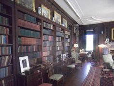 File:Home of Franklin D. Roosevelt National Historic Site Library 2012.JPG