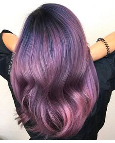How beautiful! Smoky Pink and Purple with blue by @kimwasabi! Are you lusting over this color? #hotonbeauty