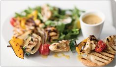 Hearty Mediterranean Salad with Balsamic Chicken