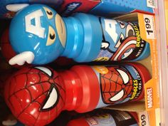 The perfect party favor for a superhero birthday party. These Marvel bubbles are from Walgreens and cost $1.99.