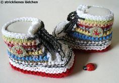Babyschuhe   von stricklienes lädchen auf DaWanda.com