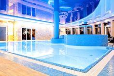 Indoor pool #spa #wellness #hotel #relax #pool