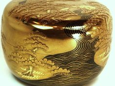 Sanao Matsuda makie | Beauty of Gold Makie CLOSE UP