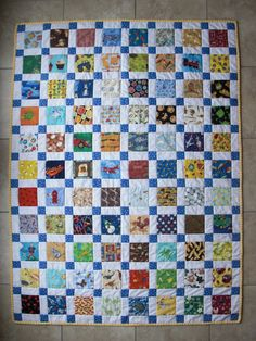 Wedding quilt Obsessively Stitching: Disappearing Nine-Patch: I-Spy Version 9 Patch Quilt, Strip Quilts, Boy Quilts, Girls Quilts, Quilt Blocks, Scrappy Quilt Patterns, Scrappy Quilts, Mini Quilts, Disappearing Nine Patch