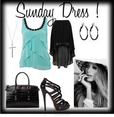 """""""sunday dress"""" by generation08 on Polyvore"""