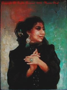 Marvin Steel, Painter, Flamenco themes
