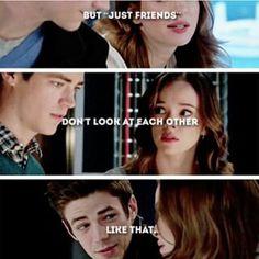 """Just Friends""  #Snowbarry"