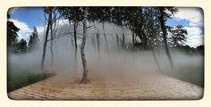 Standing Cloud, by Fujiko NAKAYA