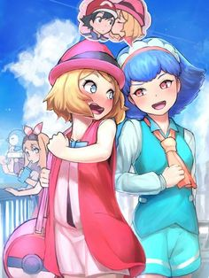(Serena) (Internal Scream) That Miette! (Miette) What someday you will have to vent your feelings and tell him. (Serena) I wish I wouldn't have to, but I have to. Just not now.