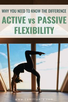 Learn why it's important to have a good balance between active vs. passive flexibility, and how you can modify your yoga practice to become more flexible! Flexibility Training, Yoga For Flexibility, Aerial Silks, Aerial Dance, Aerial Hoop, Yoga Flow Sequence, Home Yoga Practice, Advanced Yoga, Iyengar Yoga