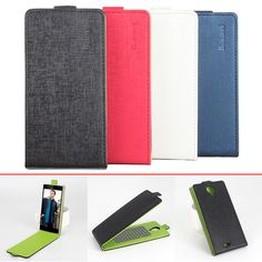 >> Click to Buy << Sticky Contrast Color Flip Cover PU Leather Case for Leagoo Alfa 5 Up Down Vertical Protective Shell Case with Magnetic Clip #Affiliate
